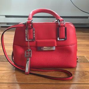 Calvin klein coral purse/ shoulder bag